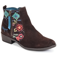 Shoes Women Ankle boots Desigual NATALIA CHOCOLATE