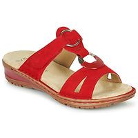 Shoes Women Sandals Ara HAWAII Red