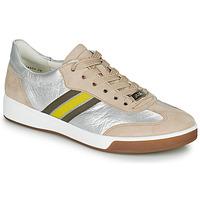 Shoes Women Low top trainers Ara ROM-HIGHSOFT Silver / Beige / Yellow