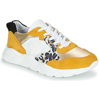 Shoes Women Low top trainers Philippe Morvan VIRGIL Yellow / White