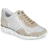 Shoes Women Low top trainers Regard JARD V4 CROSTA P STONE White / Beige