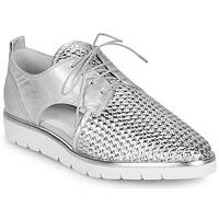 Shoes Women Derby shoes Regard LUCEY V2 TRESSE SILVER Silver