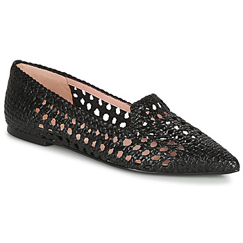 Shoes Women Ballerinas Pretty Ballerinas COTON NEGRO Black