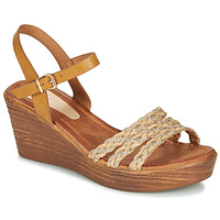 Shoes Women Sandals Spot on F10874 Brown