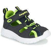 Shoes Boy Sandals Kangaroos KI-Rock Lite EV Blue / Yellow