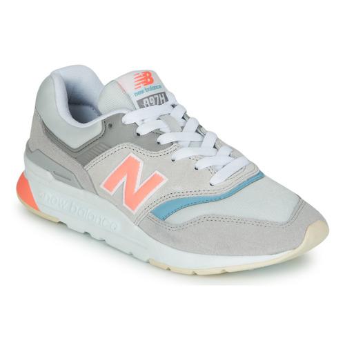 New Balance 997 Grey / Blue / Pink