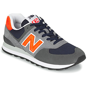 Shoes Men Low top trainers New Balance 574 Grey / Orange