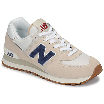 Shoes Low top trainers New Balance 574 Grey / Blue