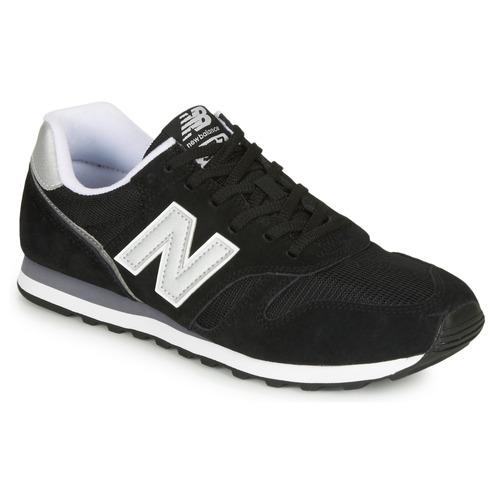 new balance 373 black sneakers
