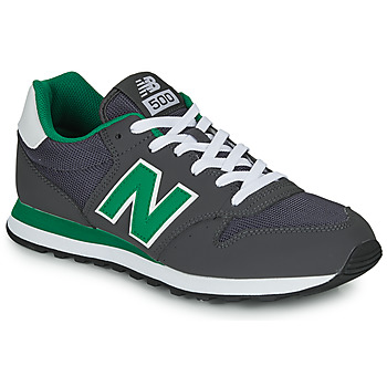 Shoes Men Low top trainers New Balance 500 Grey / Green
