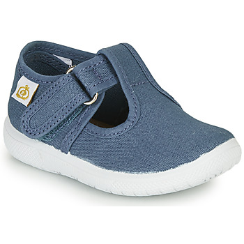 Shoes Children Ballerinas Citrouille et Compagnie MATITO Blue