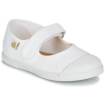 Shoes Children Ballerinas Citrouille et Compagnie APSUT White