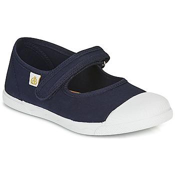 Shoes Children Ballerinas Citrouille et Compagnie APSUT Blue / Marine