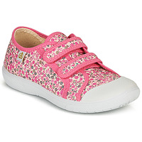 Shoes Girl Low top trainers Citrouille et Compagnie GLASSIA Pink / Multicolour