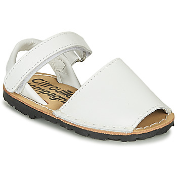 Shoes Girl Sandals Citrouille et Compagnie SQUOUBEL Silver