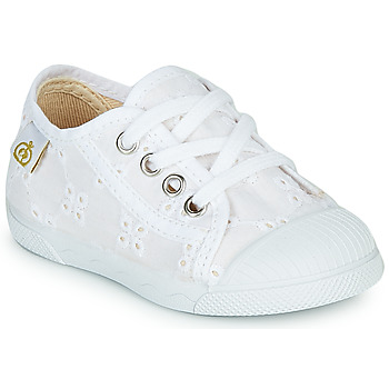Shoes Girl Low top trainers Citrouille et Compagnie MALIKA White