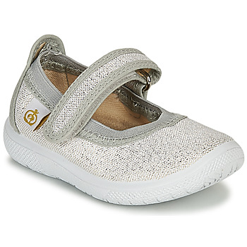 Shoes Girl Ballerinas Citrouille et Compagnie MIRABEL Silver