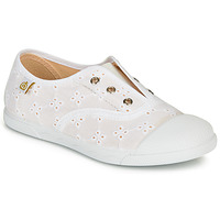 Shoes Children Low top trainers Citrouille et Compagnie RIVIALELLE White