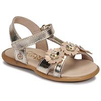 Shoes Girl Sandals Citrouille et Compagnie MARELLE Silver