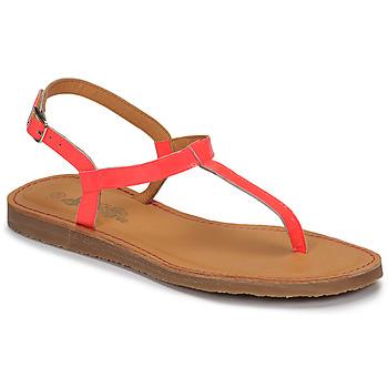 Shoes Girl Flip flops Citrouille et Compagnie MIZZA Pink / Fluorescent