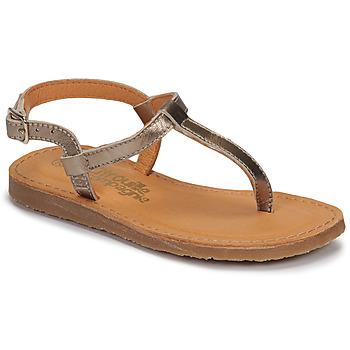 Shoes Girl Flip flops Citrouille et Compagnie MIZZA Gold