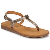 Shoes Girl Flip flops Citrouille et Compagnie MIZZA Gold