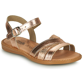 Shoes Girl Sandals Citrouille et Compagnie IZOEGL Brown
