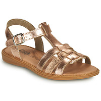 Shoes Girl Sandals Citrouille et Compagnie ROLUI Bronze
