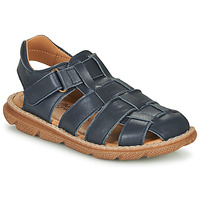 Shoes Boy Sandals Citrouille et Compagnie GLENO Marine