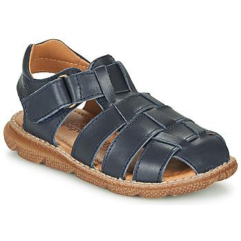 Shoes Boy Sandals Citrouille et Compagnie GLENO Marine