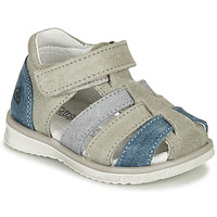 Shoes Boy Sandals Citrouille et Compagnie FRINOUI Grey