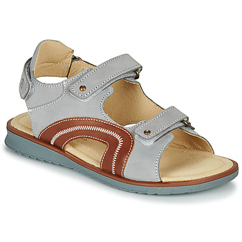 Shoes Boy Sandals Citrouille et Compagnie MASTIKO Grey