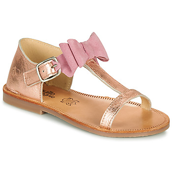 Shoes Girl Sandals Citrouille et Compagnie MELINDA Silver