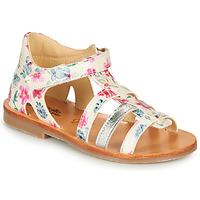 Shoes Girl Sandals Citrouille et Compagnie MIDINA Multicoloured