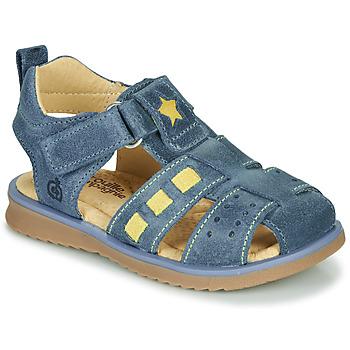 Shoes Boy Sandals Citrouille et Compagnie MARINO Marine