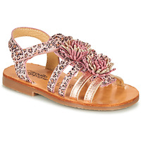 Shoes Girl Sandals Citrouille et Compagnie MARINAS Pink