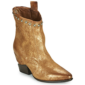 Shoes Women Mid boots Airstep / A.S.98 TINGET Gold