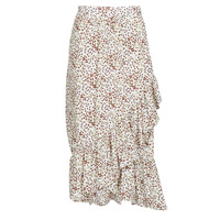 material Women Skirts Betty London MADILOU White / Red
