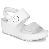 Shoes Women Sandals IgI&CO 5178211 White / Silver