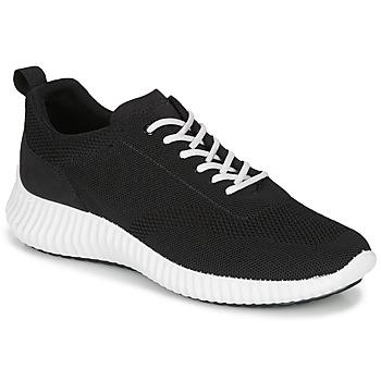 Shoes Men Low top trainers IgI&CO 5123422 Black