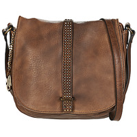 Bags Women Shoulder bags Moony Mood LOURRE Cognac