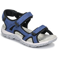 Shoes Women Sports sandals Allrounder by Mephisto LARISA Blue