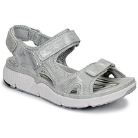 Shoes Women Sports sandals Allrounder by Mephisto ITS ME Silver
