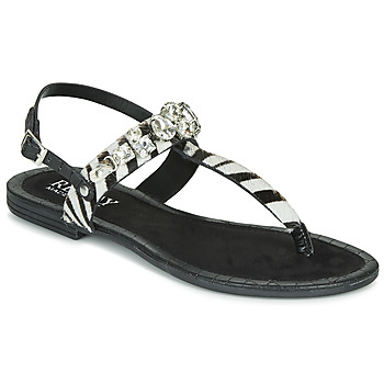 Shoes Women Sandals Replay MELODY Black / White