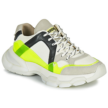 Shoes Women Low top trainers Bronx SEVENTY STREET White / Yellow