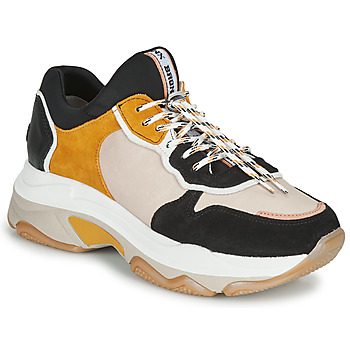 Shoes Women Low top trainers Bronx BAISLEY Beige / Black / Yellow