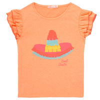 material Girl short-sleeved t-shirts Billieblush / Billybandit NORE Orange