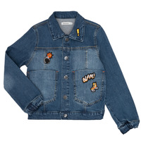 material Boy Denim jackets Billieblush / Billybandit NOTINIO Blue