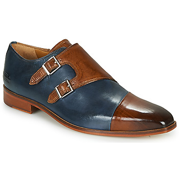 Shoes Men Brogue shoes Melvin & Hamilton LANCE 34 Blue / Brown