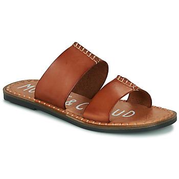 Shoes Women Mules Musse & Cloud LESLIE Cognac